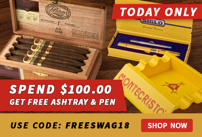 Get Free Ashtray & Pen Set