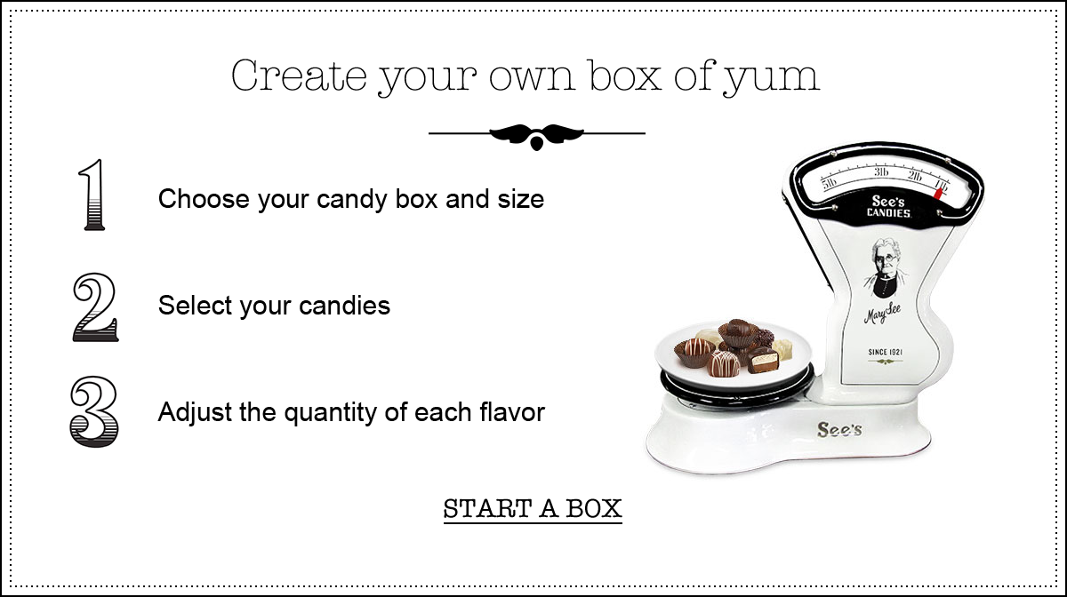 Create your own box of yum