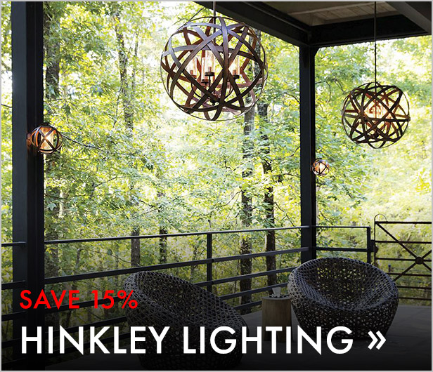 Save 15%. Hinkley Lighting.