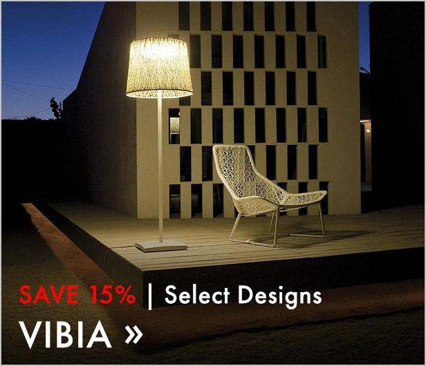 Save 15%. Select Designs. Vibia.