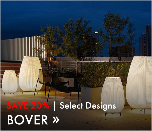 Save 20%. Select Designs. Bover.