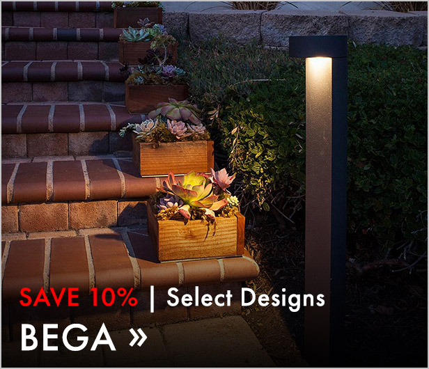 Save 10%. Select Designs. Bega.