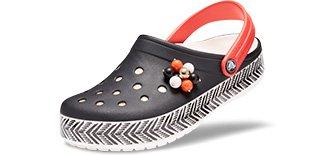 Drew Barrymore Crocs Crocband Chevron Clog
