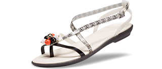 Women's Drew Barrymore Crocs Isabella Gladiator Sandal