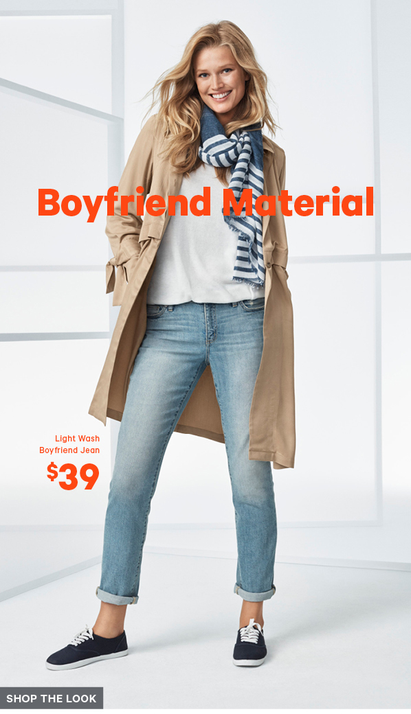 Boyfriend material - Shop the look