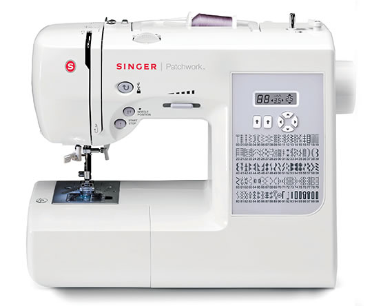Singer Patchwork Sewing and Quilting Machine.