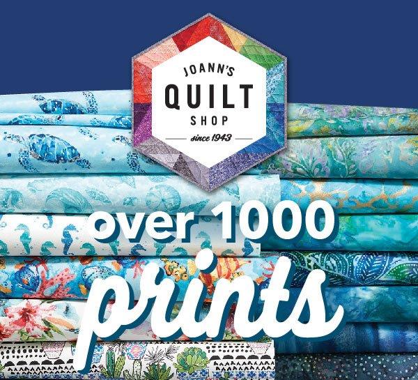 JOANN Quilt Shop.