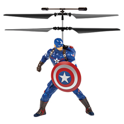 Marvel Licensed Avengers Captain America 2CH IR RC Helicopter