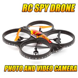 Sphere 2.4GHz 4.5CH Camera RC Spy Drone