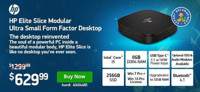 HP Elite Slice 6500T 2.5GHz 8 GB 40404488 Shop Now