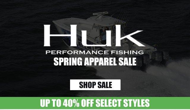 Huk Spring Apparel Sale