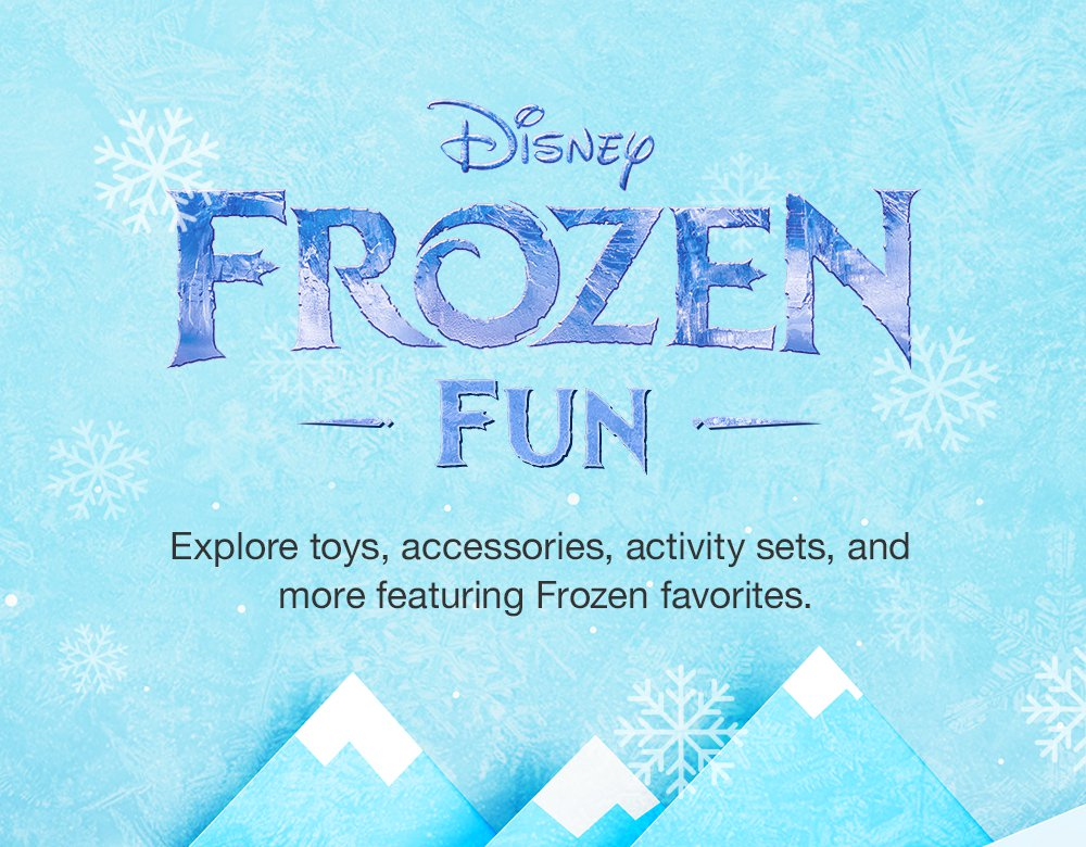 Disney Frozen. Explore toys, accessories, activity sets, and more featuring Frozen favorites.
