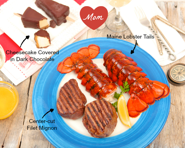 Lobster Dinner Mother's Day