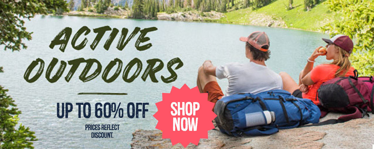 Active Outdoor Gear Up to 60% Off. Prices Reflect Discount. Featuring Pathway.