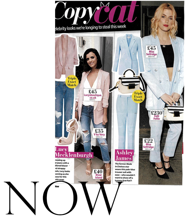 As seen in Now Magazine