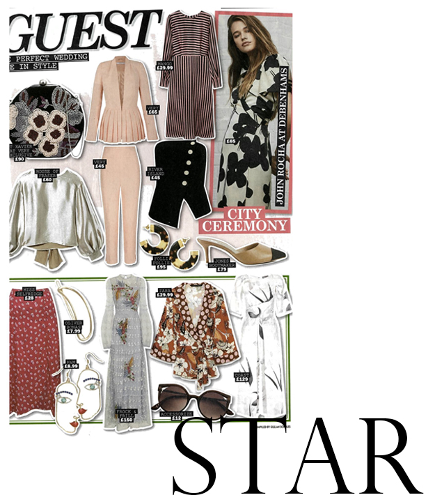 As seen in Star Magazine