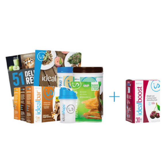 Get a FREE box of IdealBoost with your 30 day plan!