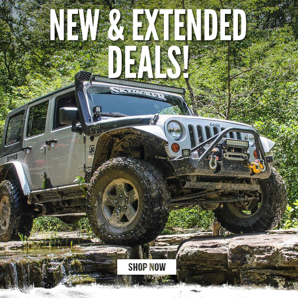 New & Extended Deals!