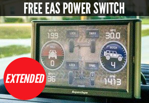 Buy A Superchips Programmer, Get EAS Power Switch FREE