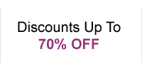Discounts Up To 70% OFF
