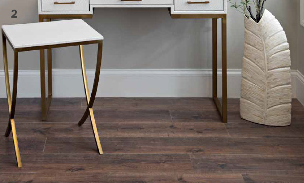 177163 White and Gold Curved Side Table