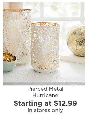 177461 Pierced Metal Hurricane