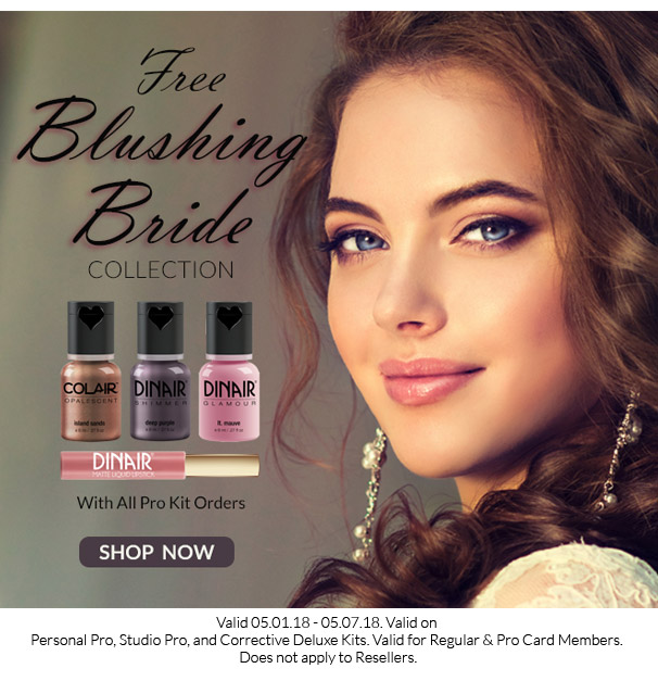 Free Blushing Bride Collection with Pro Kits