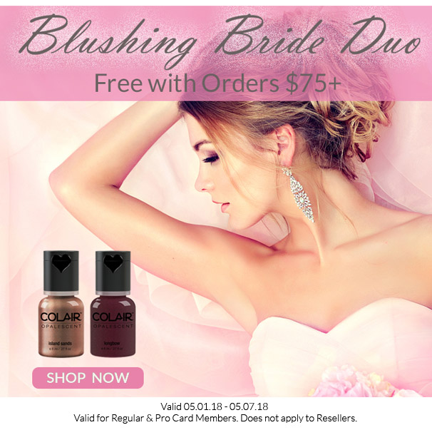 Free Blushing Bride Duo Collection with Orders $75+