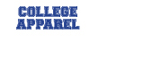 COLLEGE APPAREL LOGO