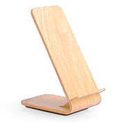 10w Fast Wireless Charger Wooden Bracket ...