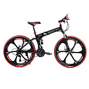 Folding Bike Mountain Bike Cycling 21 Spe...