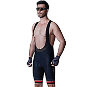 SANTIC Cycling Padded Shorts Men's Bike B...