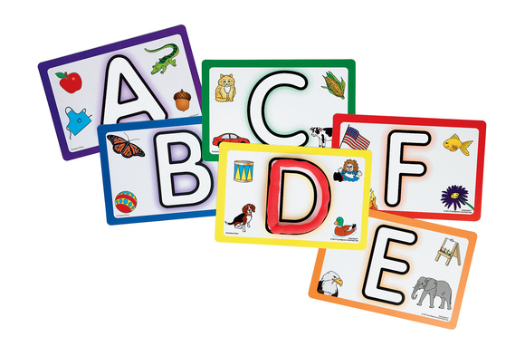 Colorations ABC Modeling Mats Set of 26