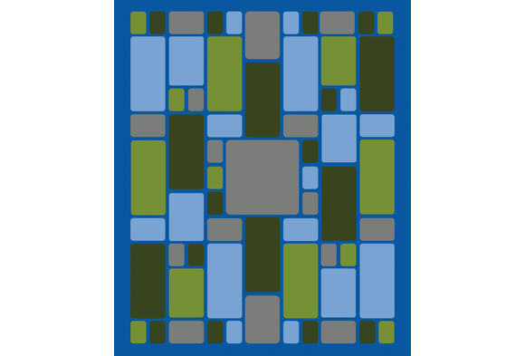 Environment Rectangles Carpet 10'9
