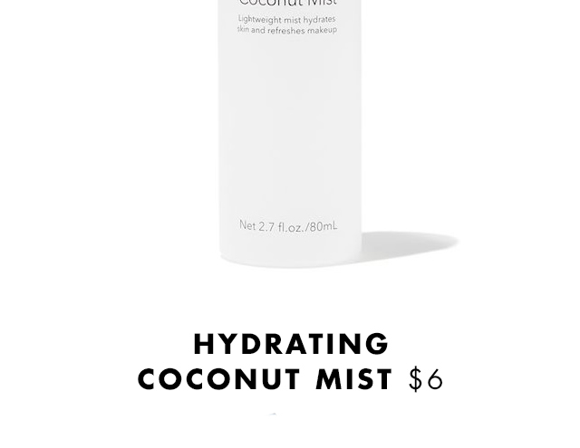Hydrating Coconut Mist $6