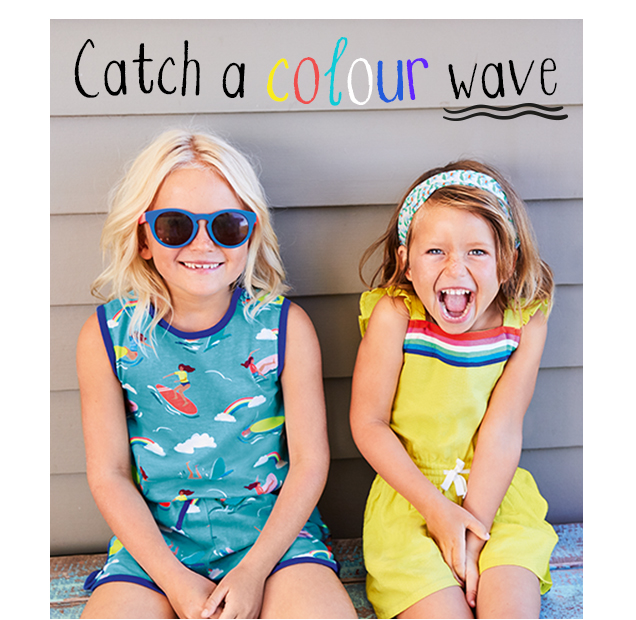 Catch a colour wave