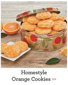 Homestyle Orange Cookies