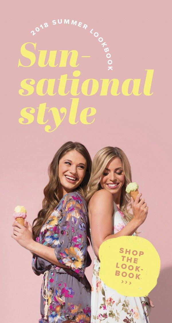 2018 Summer Lookbook - Sun-sational style - Shop The Look-Book