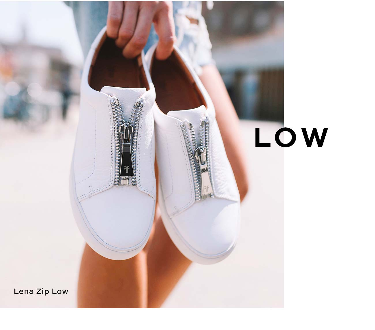 Lena Zip Low