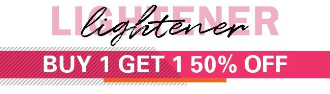 B1G1 50% off Lighteners & Developers