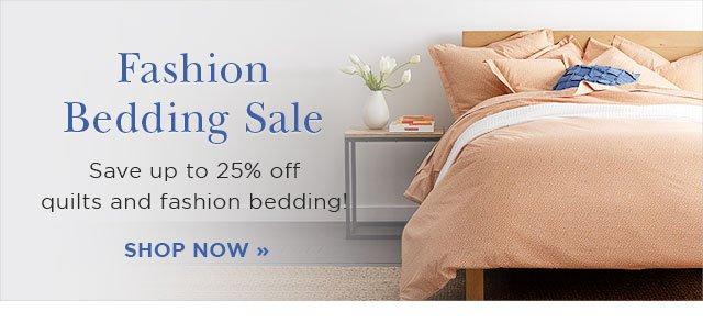 Shop Fashion Bedding Sale