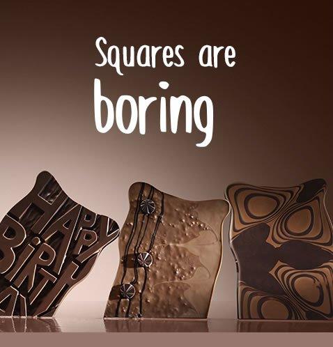 Squares are boring