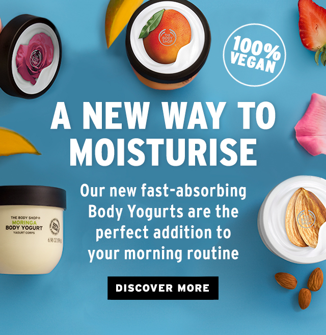 A new Way To Moisturise 100% Vegan - Discover more