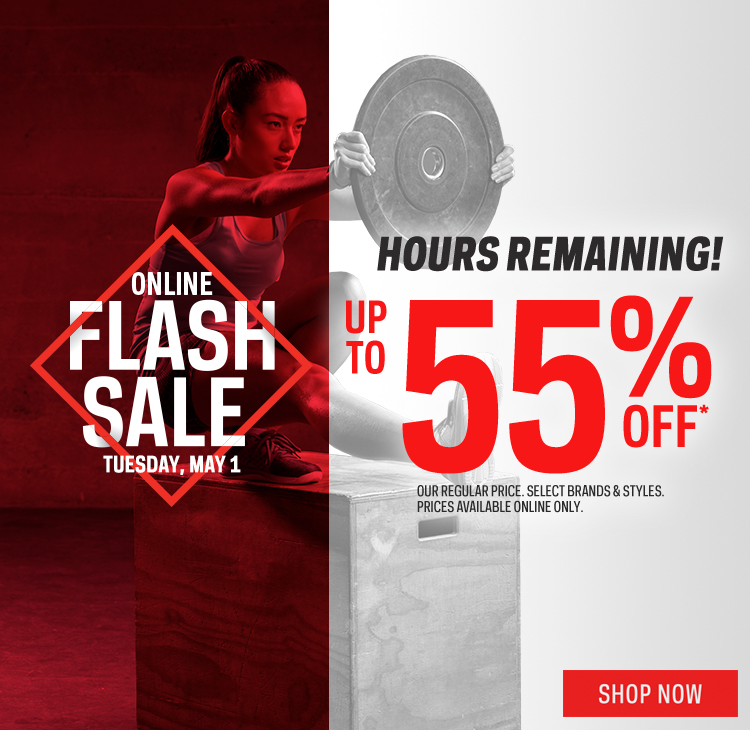 Flash Sale: Up to 55% off*