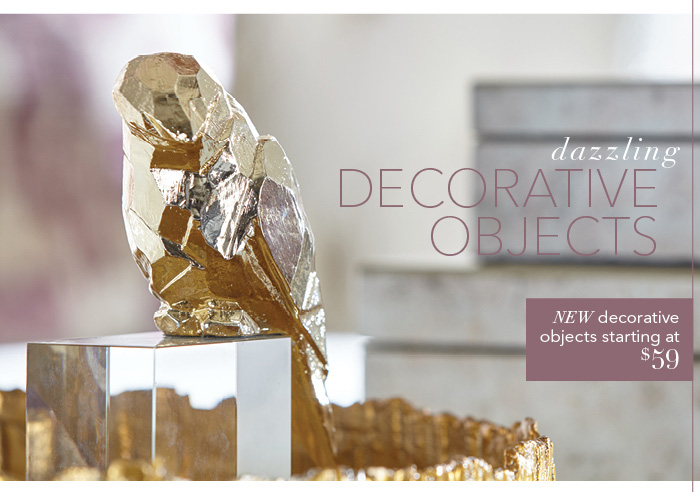 Shop decorative objects >