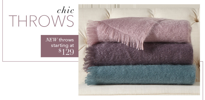 Shop throws >
