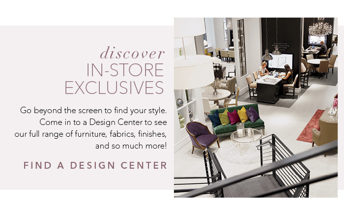 discover in-store exclusives