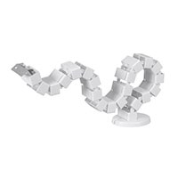 Cable Management Spine, White