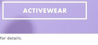 Active wear!