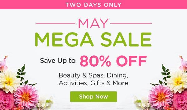 Mega May Sale